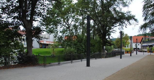 Promenade und Otto-Quelle